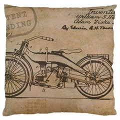 Motorcycle 1515873 1280 Large Cushion Case (two Sides) by vintage2030