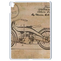 Motorcycle 1515873 1280 Apple Ipad Pro 9 7   White Seamless Case by vintage2030