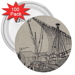 Ship 1515860 1280 3  Buttons (100 Pack)  by vintage2030