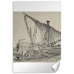 Ship 1515860 1280 Canvas 24  X 36  by vintage2030
