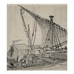 Ship 1515860 1280 Shower Curtain 66  X 72  (large)  by vintage2030