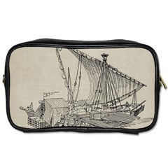 Ship 1515860 1280 Toiletries Bag (two Sides) by vintage2030