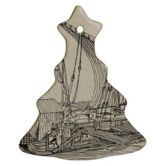 Ship 1515860 1280 Christmas Tree Ornament (two Sides) by vintage2030