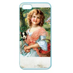 Vintage 1501591 1920 Apple Seamless Iphone 5 Case (color) by vintage2030