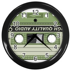 Cassette 40267 1280 Wall Clock (black) by vintage2030