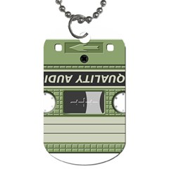 Cassette 40267 1280 Dog Tag (two Sides) by vintage2030
