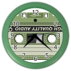 Cassette 40267 1280 Color Wall Clock by vintage2030