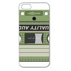 Cassette 40267 1280 Apple Seamless Iphone 5 Case (clear) by vintage2030