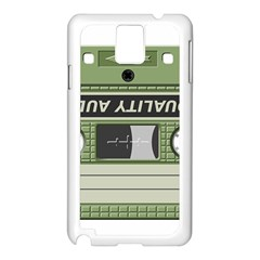 Cassette 40267 1280 Samsung Galaxy Note 3 N9005 Case (white) by vintage2030
