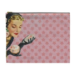 Vintage Lady Cosmetic Bag (xl)