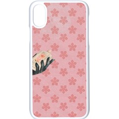 Vintage Lady Apple Iphone X Seamless Case (white) by vintage2030