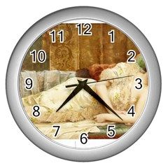 Vintage 1501595 1920 Wall Clock (silver) by vintage2030
