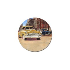 Retro Cars Golf Ball Marker by vintage2030