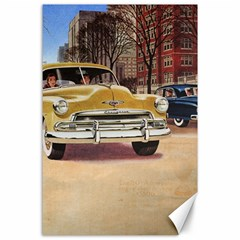 Retro Cars Canvas 24  X 36  by vintage2030