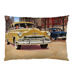 Retro Cars Pillow Case by vintage2030