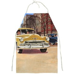 Retro Cars Full Print Aprons by vintage2030