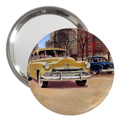 Retro Cars 3  Handbag Mirrors by vintage2030