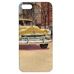 Retro Cars Apple Iphone 5 Hardshell Case With Stand by vintage2030