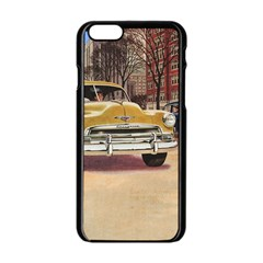 Retro Cars Apple Iphone 6/6s Black Enamel Case by vintage2030