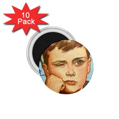 Retro Boy 1 75  Magnets (10 Pack)  by vintage2030