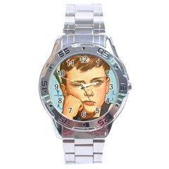 Retro Boy Stainless Steel Analogue Watch by vintage2030