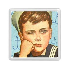 Retro Boy Memory Card Reader (square) by vintage2030