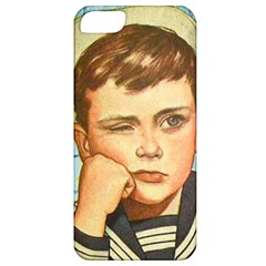 Retro Boy Apple Iphone 5 Classic Hardshell Case by vintage2030