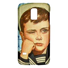 Retro Boy Samsung Galaxy S5 Mini Hardshell Case  by vintage2030