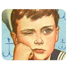 Retro Boy Double Sided Flano Blanket (medium)  by vintage2030