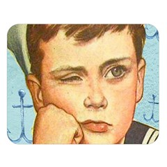 Retro Boy Double Sided Flano Blanket (large)  by vintage2030