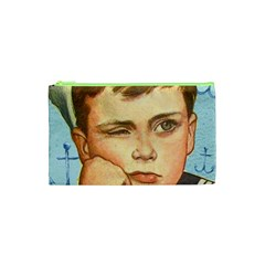 Retro Boy Cosmetic Bag (xs) by vintage2030