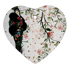 Background 1426655 1920 Heart Ornament (two Sides) by vintage2030