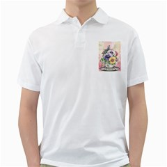 Lowers Pansy Golf Shirt