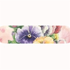 Lowers Pansy Large Bar Mats by vintage2030