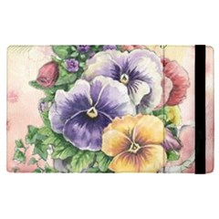 Lowers Pansy Apple Ipad Pro 12 9   Flip Case by vintage2030