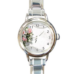 Background 1362160 1920 Round Italian Charm Watch