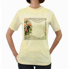 Background 1362160 1920 Women s Yellow T Shirt