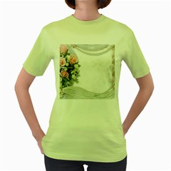Background 1362160 1920 Women s Green T Shirt