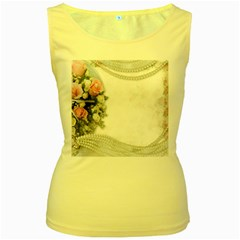 Background 1362160 1920 Women s Yellow Tank Top