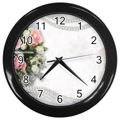 Background 1362160 1920 Wall Clock (black)