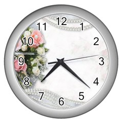 Background 1362160 1920 Wall Clock (silver)