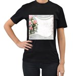 Background 1362160 1920 Women s T-Shirt (Black) Front