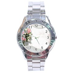 Background 1362160 1920 Stainless Steel Analogue Watch