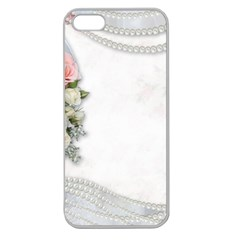 Background 1362160 1920 Apple Seamless Iphone 5 Case (clear)