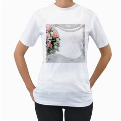 Background 1362160 1920 Women s T Shirt (white)