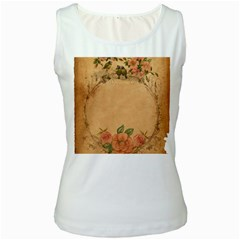 Background 1365750 1920 Women s White Tank Top