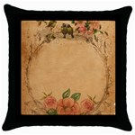 Background 1365750 1920 Throw Pillow Case (Black) Front