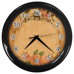 Background 1365750 1920 Wall Clock (black)
