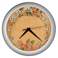 Background 1365750 1920 Wall Clock (silver)