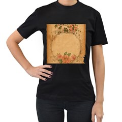 Background 1365750 1920 Women s T Shirt (black) (two Sided)